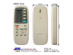 Air conditioner Universal Remote Control|ARNT-01