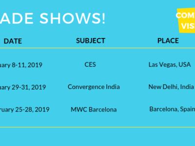 2018 Trade Shows