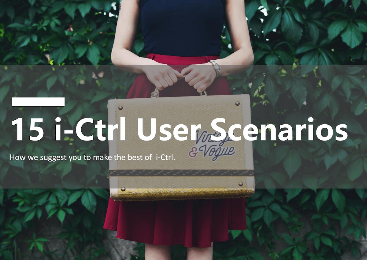 i-Ctrl User scenarios-En-1